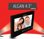 "algan 4.3 "" Görüntülü Diyafon"