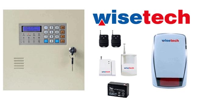 Wisetech Kablosuz Alarm Sistemi